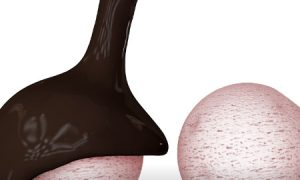 Liquid chocolate – Cinema 4D and X-Particles